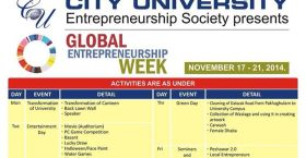 entrepreneurship week city