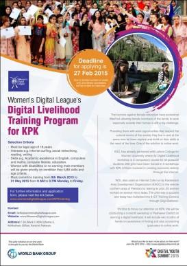 Digital Livelihood Training Peshawar