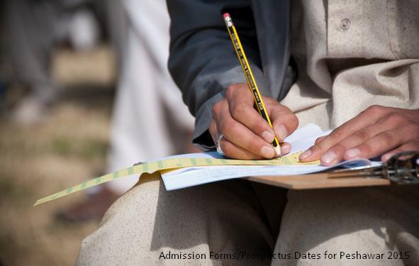 Admission Forms Peshawar Colleges 2015