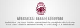 BISE Peshawar Result F.A/F.Sc 2016 Announced