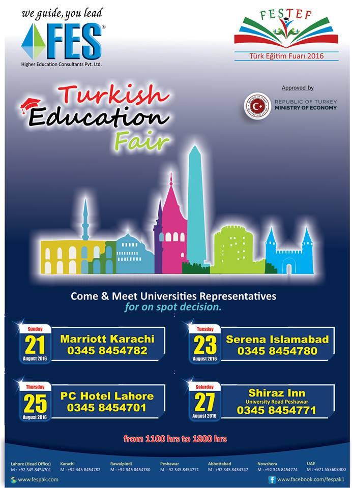 FES Turkish Education Fair-Peshawar
