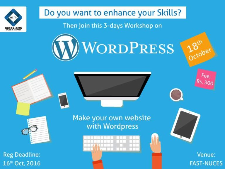 WordPress Learning Workshop in Peshawar