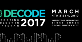 DECODE - Pakistan's first Ever Bio-hackathon