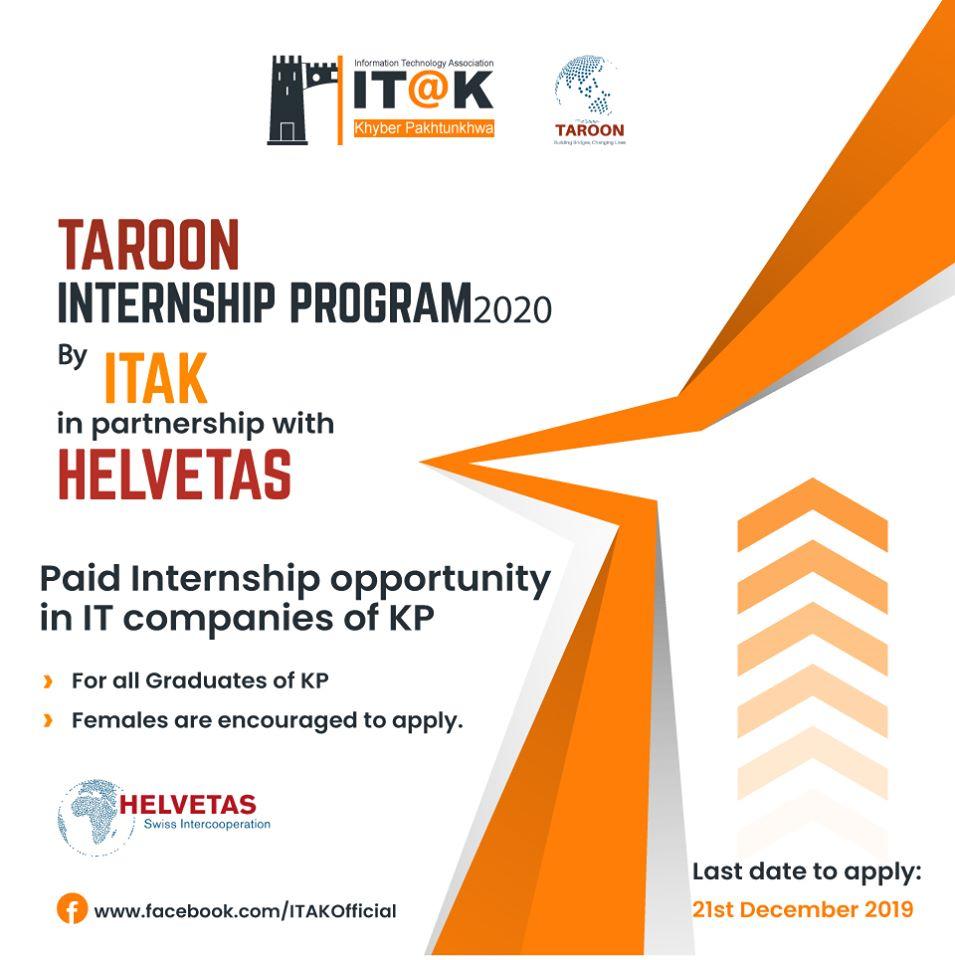 Taroon Internship Program