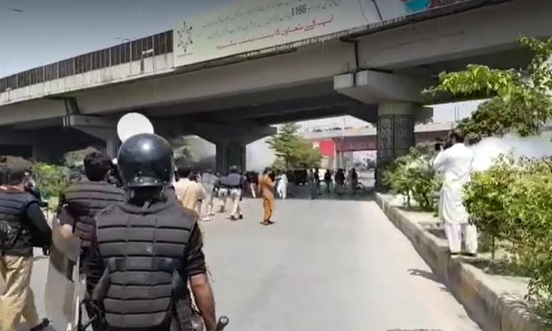 Peshawar Teacher Protest